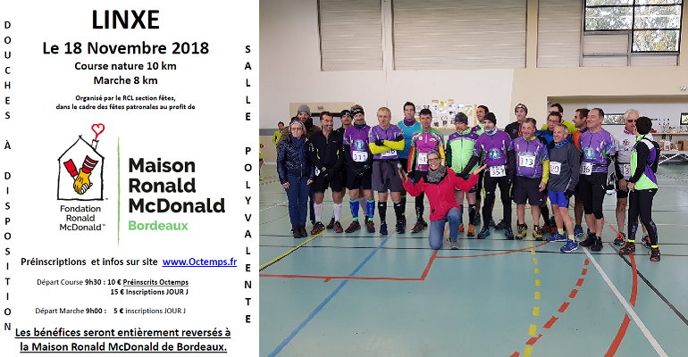 Course Nature de Linxe